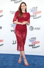 ELIZABETH OLSEN at 2018 Film Independent Spirit Awards in Los Angeles 03/03/2018