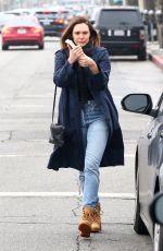 ELIZABETH OLSEN in Jeans Out in Los Angeles 03/10/2018