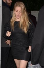 ELLIE GOULDING at Chateau Marmont in Los Angeles 03/03/2018