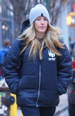 ELLIE GOULDING Out and About in New York 03/22/2018