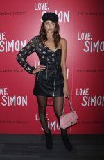 ELLINOR SANDBORG at Love, Simon Premiere in New York 03/08/2018