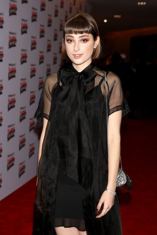 ELLISE CHAPPELL at Empire Film Awards in London 03/18/2018