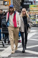 ELSA HOSK and Tom Daly Out in New York 03/29/2018