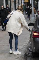 ELSA HOSK Leaves Her Apartment in New York 03/27/2018