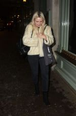 EMILY BERRINGTON Arrives at Era 50:50 Talk in London 02/28/2018
