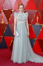 EMILY BLUNT at 90th Annual Academy Awards in Hollywood 03/04/2018
