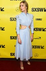 EMILY BLUNT at A Quiet Place Premiere at SXSW Sestival in Austin 03/09/2018