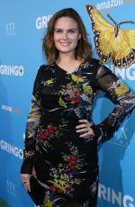 EMILY DESCHANEL at Gringo Premiere in Los Angeles 03/06/2018