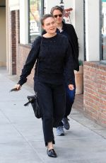 EMILY DESCHANEL Out for Lunch in Beverly Hills 02/28/2018