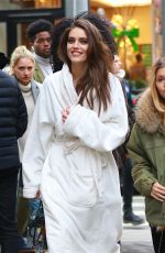 EMILY DIDONATO Arrives on the Set of a Photoshoot in New York 03/23/2018
