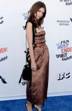 EMILY RATAJKOWSKI at 2018 Film Independent Spirit Awards in Los Angeles 03/03/2018