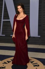 EMILY RATAJKOWSKI at 2018 Vanity Fair Oscar Party in Beverly Hills 03/04/2018