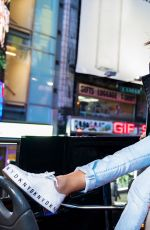EMILY RATAJKOWSKI Lip-syncs to Funkytown in New DKNY Campaign