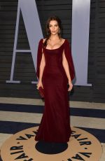 EMILY RATJKOWSKI at 2018 Vanity Fair Oscar Party in Beverly Hills 03/04/2018