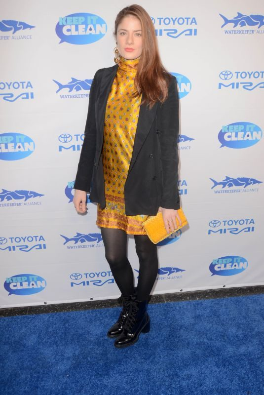 EMILY TREMAINE at Keep It Clean Love Comedy Benefit for Waterkeepers Alliance in Los Angeles 03/02/2018