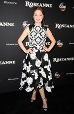 EMMA KENNEY at Roseanne Premiere in Los Angeles 03/23/2018