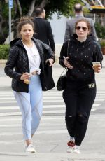 EMMA KENNEY Out and About in Los Angeles 03/07/2018