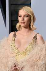 EMMA ROBERTS at 2018 Vanity Fair Oscar Party in Beverly Hills 03/04/2018