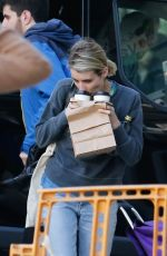 EMMA ROBERTS on the Set of Paradise HIlls in Barcelona 03/28/2018