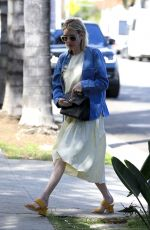 EMMA ROBERTS Out and About in Beverly HIlls 03/17/2018