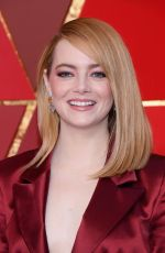 EMMA STONE at 90th Annual Academy Awards in Hollywood 03/04/2018
