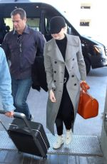 EMMA STONE at Los Angeles International Airport 03/05/2018