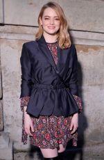 EMMA STONE at Louis Vuitton Fashion Show in Paris 03/06/2018
