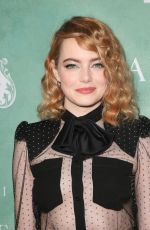 EMMA STONE at Women in Film Pre-oscar Cocktail Party in Los Angeles 03/02/2018