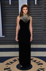 EMMA WATSON at 2018 Vanity Fair Oscar Party in Beverly Hills 03/04/2018