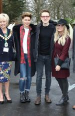 EMMA WILLIS and EMMA BUNTON at Lauch of World of Dinosaurs at Paradise Wildlife Park in Broxbourne 03/24/2018