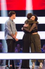EMMA WILLIS at The Voice UK Show in London 03/03/2018