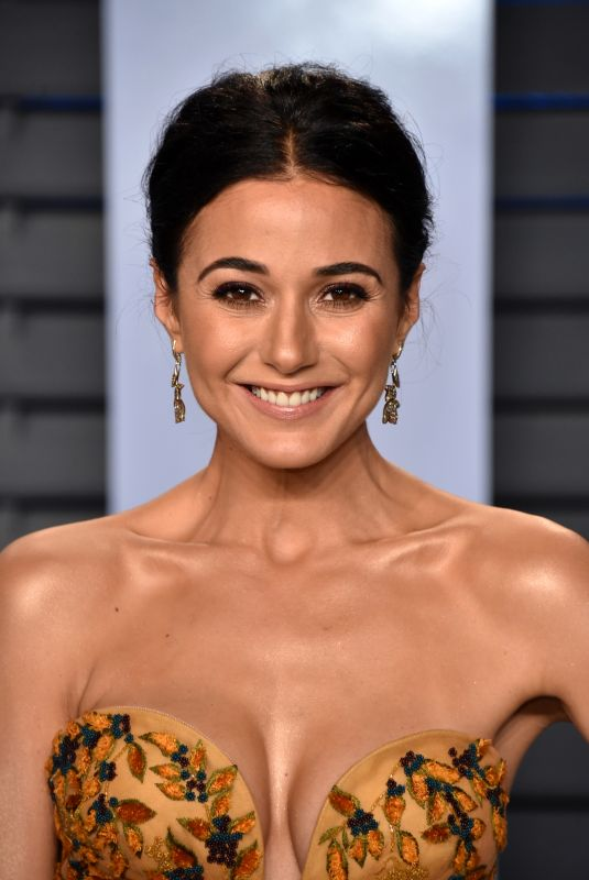 EMMANUELLE CHRIQUI at 2018 Vanity Fair Oscar Party in Beverly Hills 03/04/2018