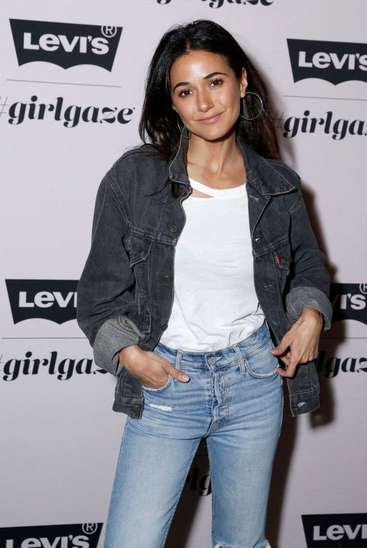 EMMANUELLE CHRIQUI at Levi