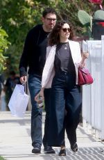 EMMY ROSSUM and Sam Esmail Out in Los Angeles 03/18/2018