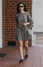 EMMY ROSSUM Leaves a Medical Building in Beverly Hills 03/19/2018