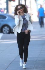 EMMY ROSSUM Out for Lunch in Beverly Hills 03/24/2018
