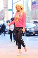 ERIKA JAYNE Out and About in New York 03/24/2018