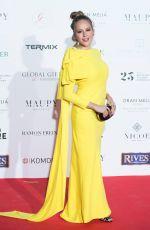 ESMERALDA MOYA at Global Gift Gala 2018 at Thyssen Museum in Madrid 03/22/2018