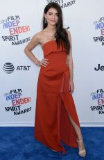 EVA DE DOMINICI at 2018 Film Independent Spirit Awards in Los Angeles 03/03/2018