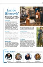 EVAN RACHEL WOOD and THANDIE NEWTON in Foxtel Magazine, April 2018