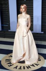 EVE HEWSON at 2018 Vanity Fair Oscar Party in Beverly Hills 03/04/2018