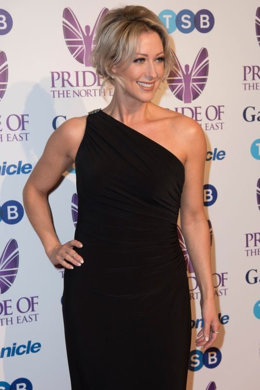 FAYE TOZER at Pride of the North East Awards in Newcastle 03/27/2018