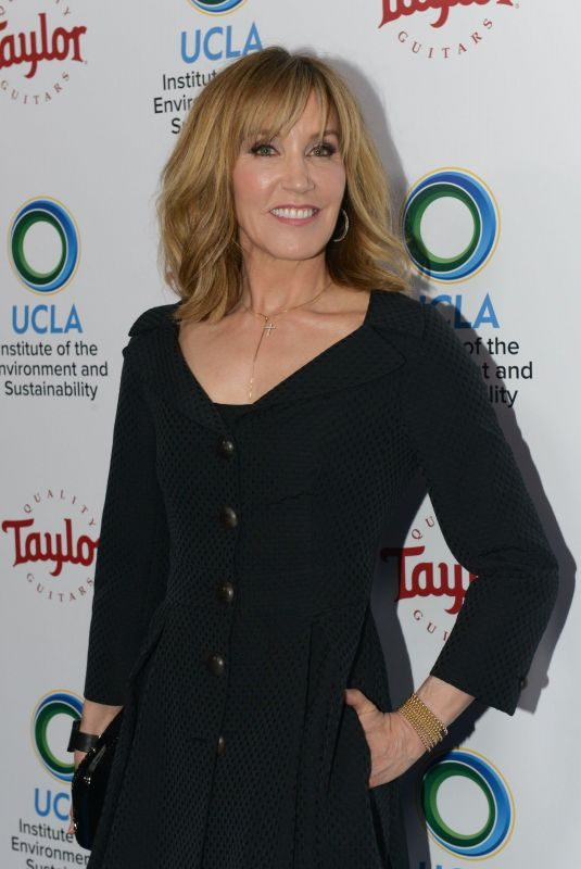 FELICITY HUFFMAN at Ucla's Institute of the Environment and Sustainability Gala in Los Angeles 03/22/2018