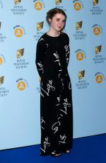 FERN DEACON at RTS Programme Awards in London 03/20/2018