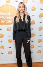 FERNE MCCANN at Good Morning Britain Show in London 03/23/2018