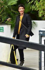 FRANKIE BRIDGE at ITV Studios in London 03/29/2018