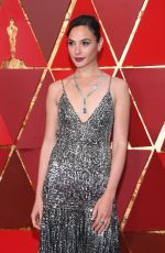 GAL GADOT at 90th Annual Academy Awards in Hollywood 03/04/2018