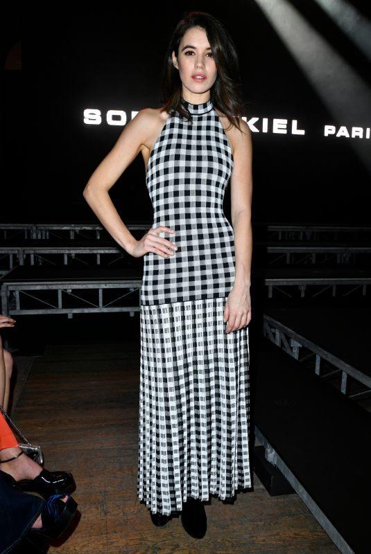 GALA GORDON at Sonia Rykiel Fashion Show in Paris 03/03/2018