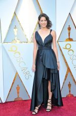 GARBINE MUGURUZA at 90th Annual Academy Awards in Hollywood 03/04/2018