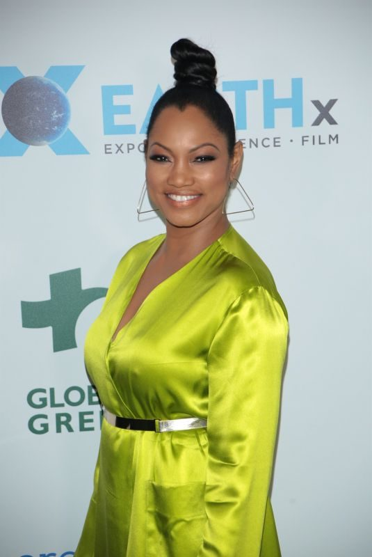 GARCELLE BEAUVAIS at Global Green Pre-Oscars Party in Los Angeles 02/28/2018